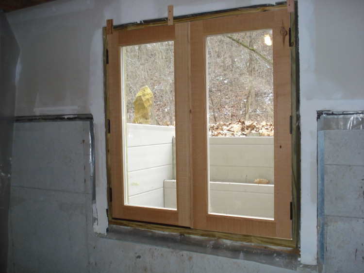 New, custom-made, didn't-cost-us-$3000 hobbit doors
